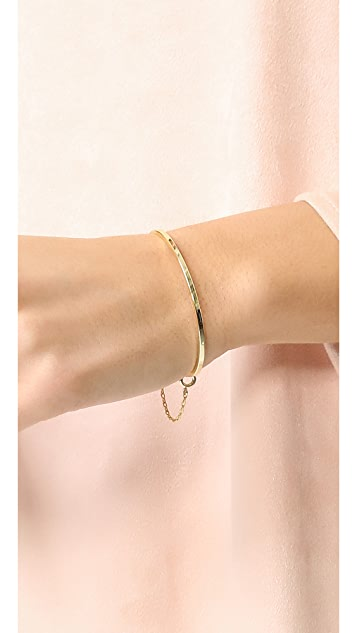 Madewell Delicate Chain Cuff Bracelet