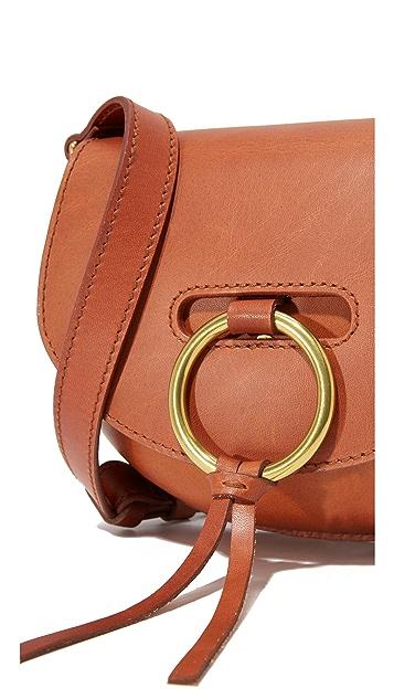 Madewell O Ring Mini Saddle Bag