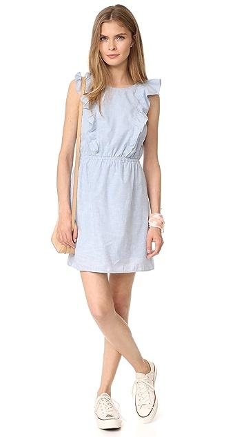 Madewell Bellflower Ruffle Dress