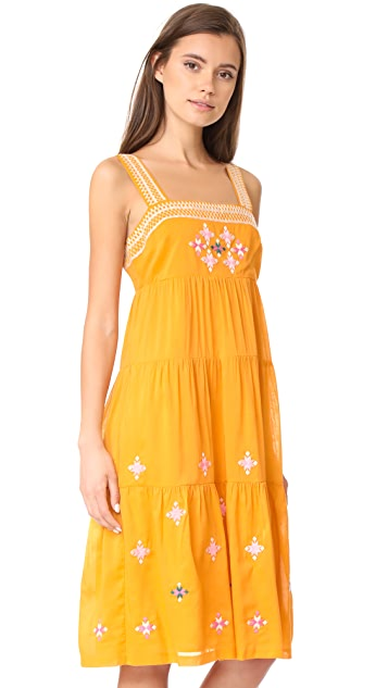 Madewell Embroidered Primrose Dress