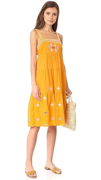 Madewell Embroidered Primrose Dress