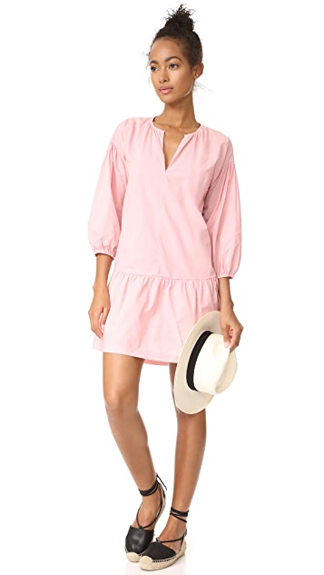 Madewell Long Sleeve Tunic Dress