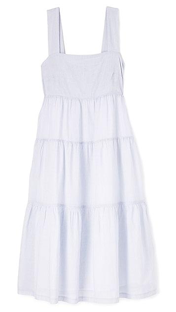 Madewell Striped Midi Dress