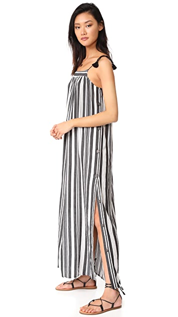 735a7a17c63 Madewell Striped Side Button Maxi Dress ...