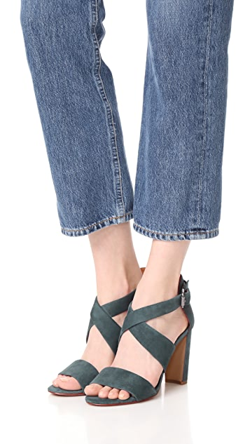 Madewell Violet Crisscross Sandals