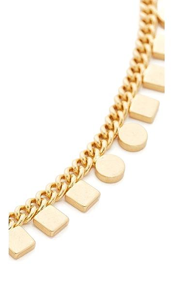 Madewell Mini Geochain Choker Necklace