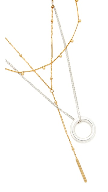 Madewell Multi Pack Layer Necklaces