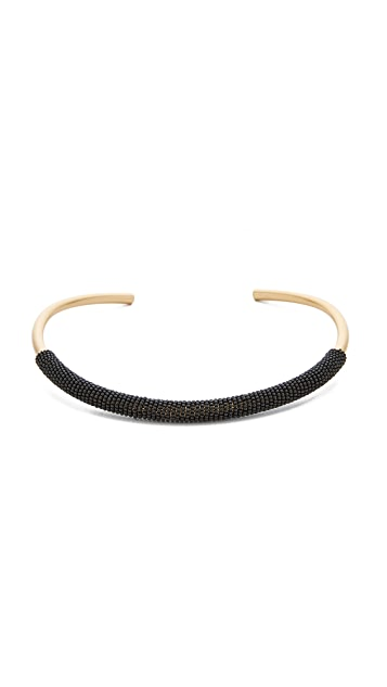 Madewell Bead Wrap Collar Necklace