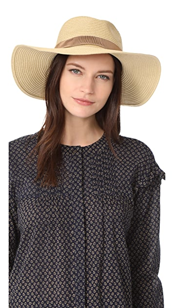 21344ded5d0 Madewell Stitched Packable Straw Hat