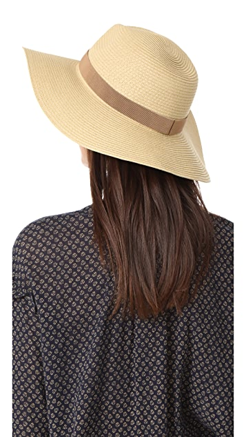 aa5d1da013a Madewell Stitched Packable Straw Hat  Madewell Stitched Packable Straw Hat  ...