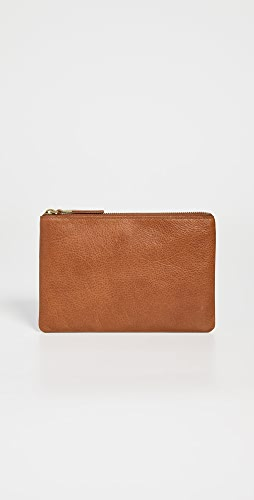 Madewell - The Leather Pouch Clutch
