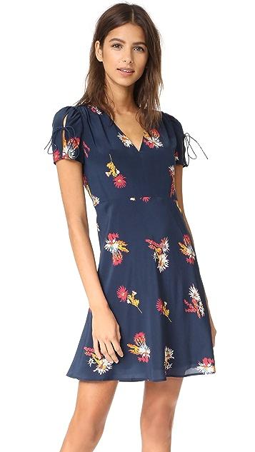 Madewell Silk Poppy Dress
