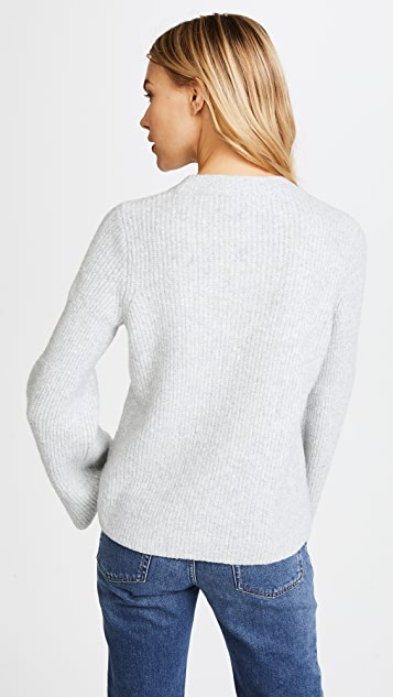 Madewell Bell Sleeve Pullover Sweater
