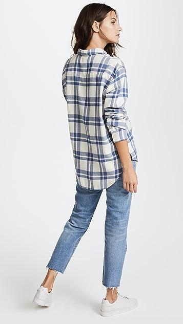 Madewell Oversized Ex Boyfriend Shirt