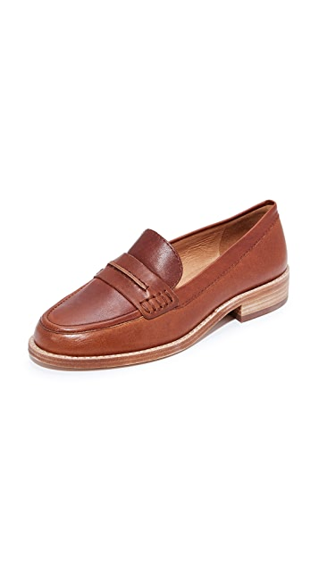 5118a4c7c90 Madewell Elinor Loafers