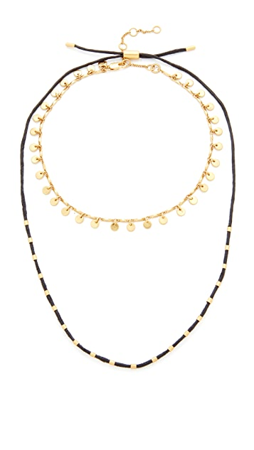 Madewell Two-Pack Choker Necklaces
