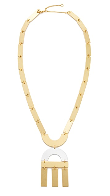 Madewell Flatform Statement Necklace