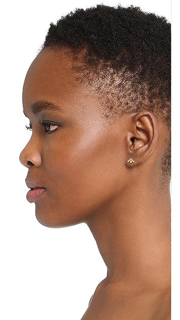 Madewell Tiny Jewels Asymmetrical Stud Earrings