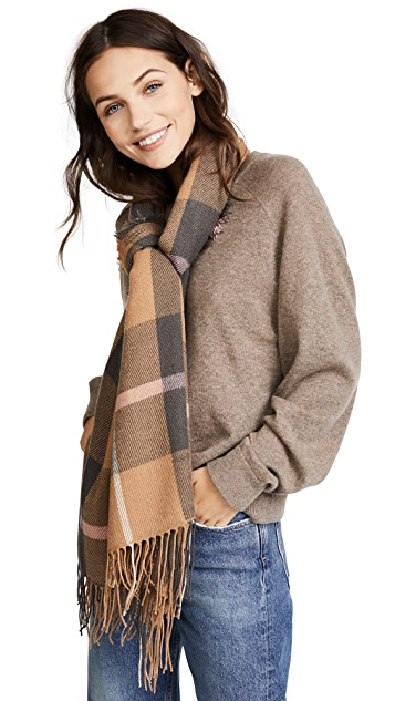 Madewell Plaid Long Scarf