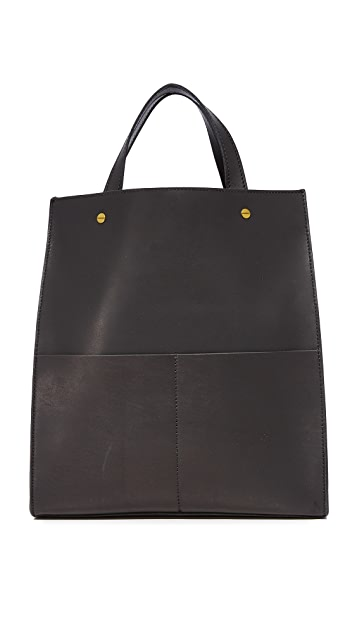 Madewell Объемная сумка с короткими ручками Passenger