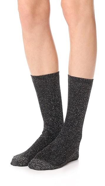 Madewell Sheer Night Sparkle Trouser Socks
