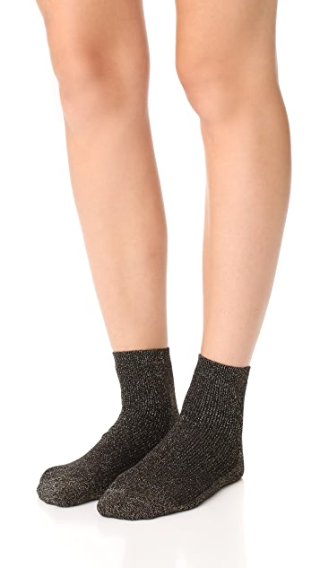 Madewell Night Sparkle Ankle Socks