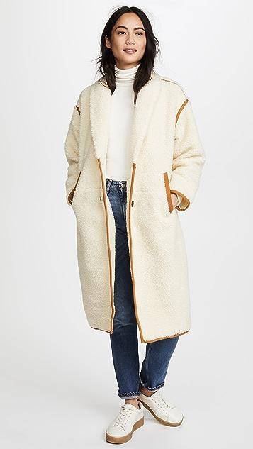 Madewell Cozy Sherpa Coat
