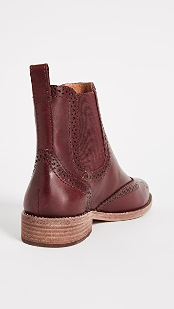 Madewell Chelsea Brogue Boots