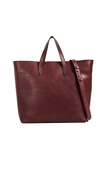 Madewell New Zip Top Tote