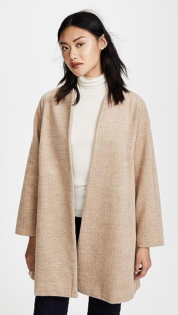 Madewell Stanza Herringbone Coat