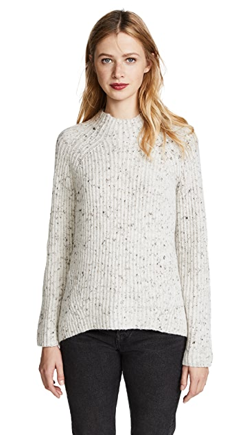 Madewell Donegal Karen Mock Neck Sweater