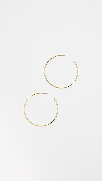 Madewell Oversized Hoop Earrings