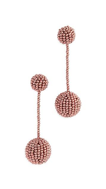 Madewell Beaded Party Earrings
