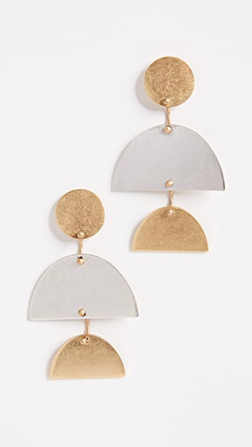 Madewell Sculpture Statement Earrings