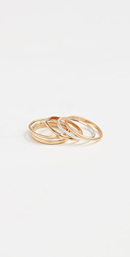 Madewell - Delicate Stacking Ring Set