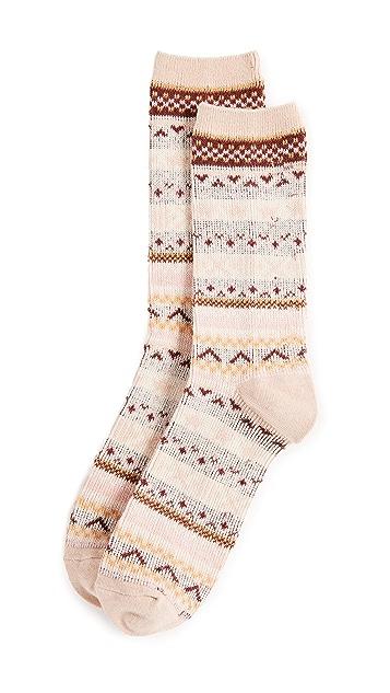 Madewell Faire Isle Trouser Socks