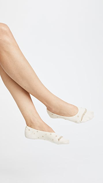 Madewell Two Pack Stars No Show Sock Set