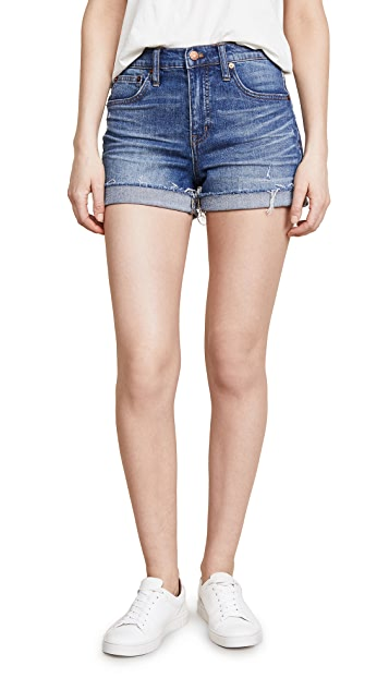 Madewell High Rise Boy Shorts