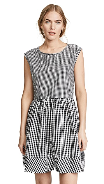 Madewell Tie Back Mini Dress