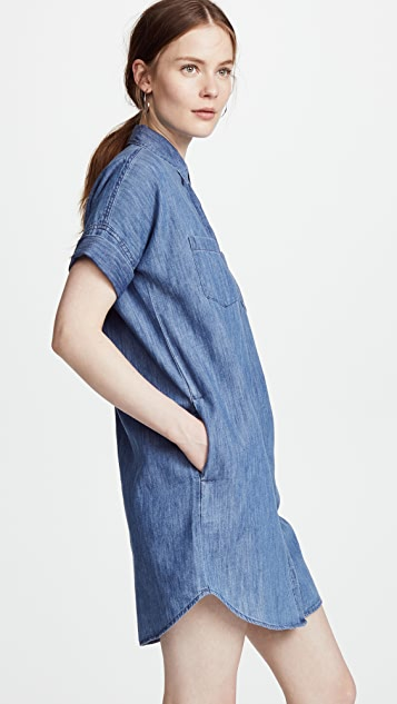 Madewell Chambray Courier Shirtdress