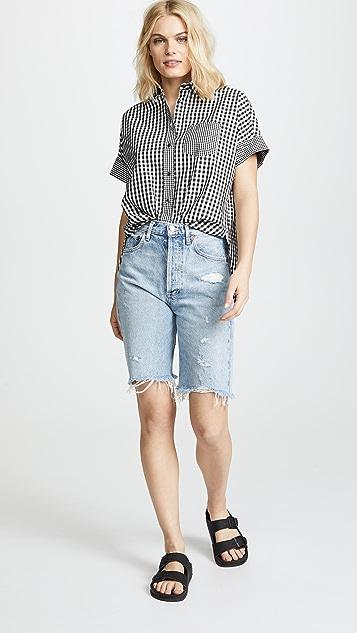Madewell Gingham Button Shirt