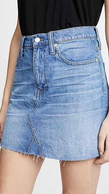 Madewell Denim Frisco Miniskirt