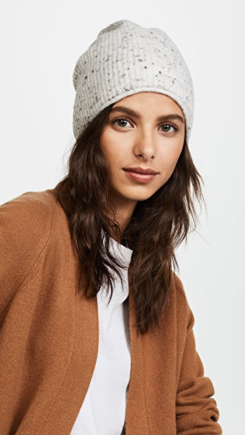 Madewell Donegal Flat Jersey Stitch Beanie