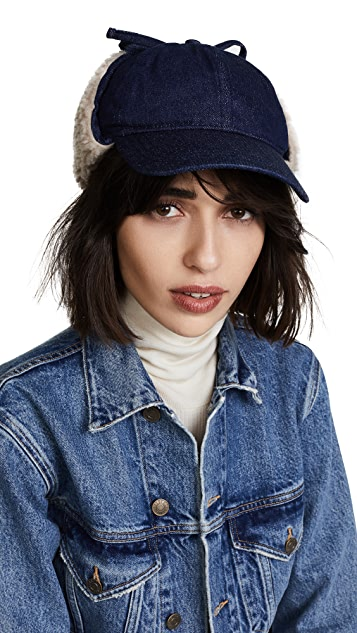 Madewell Baseball Trapper Hat