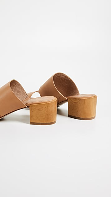 Olivia Two-Strap Mule Sandals Madewell 4v2Cwi