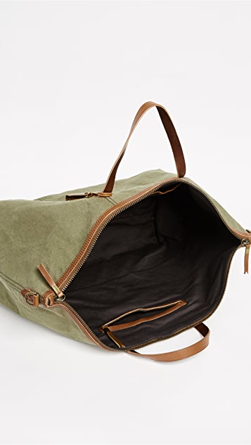 Madewell The Transport Weekender in Canvas