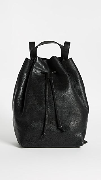 Madewell Drawstring Rucksack - True Black