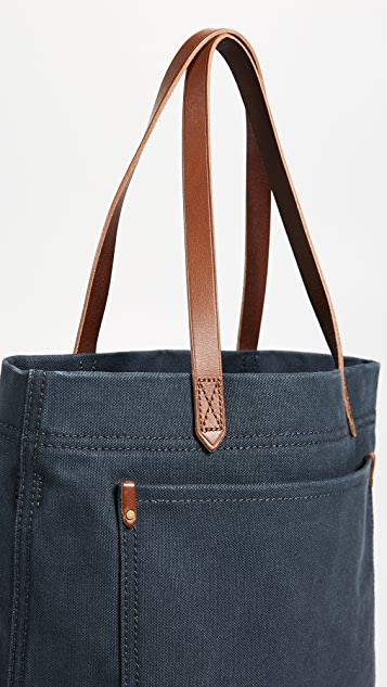 Madewell Medium Transport Tote in Canvas