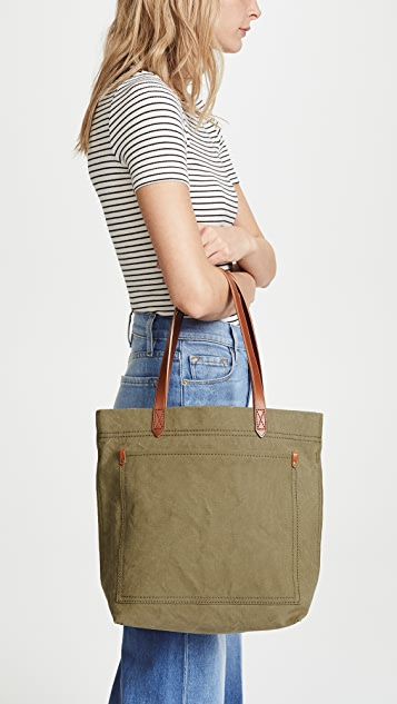 Madewell The Canvas Medium Transport Tote  6cdf1958a1184