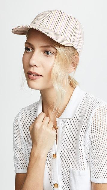 Madewell Multi Colored Stripe Baseball Hat